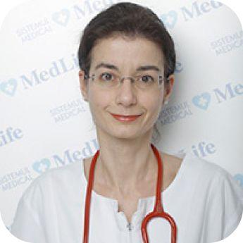 Ciaus Raluca Mihaela,Medic Primar Pediatru