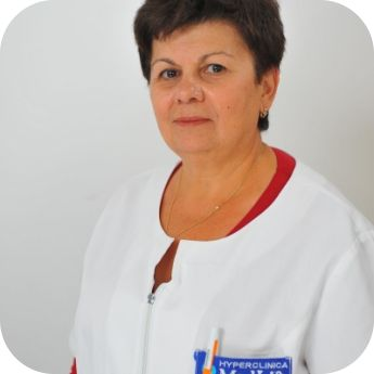 Mologhianu Gilda,Medic Primar, Conferentiar Universitar, Doctor in