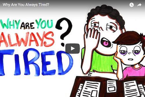 VIDEO De ce esti mereu obosit