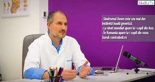 VIDEO INTERVIU Dr. Razvan Stanca, medic primar obstetrica ginecologie. Ecografia morfofetala si statistica copilului perfect